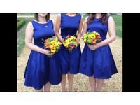 Coast duchess satin bridesmaid formal dress size 10