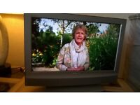 """Sony Bravia LCD 26"""" TV , with Freeview, remote and stand"""
