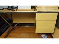 Office desk and drawers