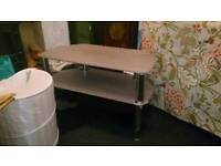 Tv stand and various items free to collector