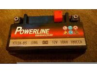 powerline m/c battery