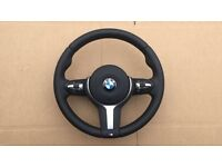 BMW F30 F31 F32 F33 F34 F35 F20 F21 F22 F25 M SPORT/M TECH STEERING WHEEL WITH AIRBAG SRS GENUINE