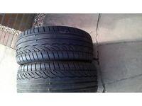 vxr astra tyres dunlop sp sport 225/40/zr18 92w now reduced
