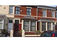 large 2 bed house+(contains a small room for an office) waterloo rd blackpool