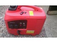 Caravan Electric start petrol generator