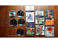 Playstation 2 with 15 games