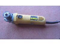 DeWalt angle grinder, 115 volt