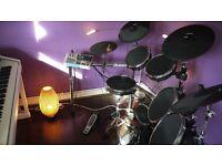 Alesis DM10X Mesh Head Digital Drum Kit For Sale + Drum Stool, Kick Pedal & Sticks