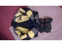 Motorbike Jacket and Gloves