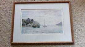 John Gillo print 'Estuary'