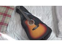 New Tender Electric Acustic Guitar
