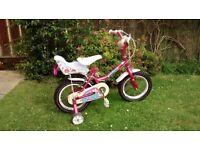 """Girls 14"""" Wheel Bicycle"""