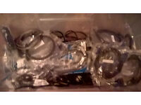 huge box of d-sub cables,dvi cables ethernet cables and other cables alot of them in bags