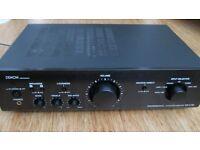 Denon Professional Integrated Amplifier DN-A 100 ,manual +remote
