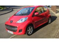 Peugeot 107 Verve Very Low Mileage and Fantastic Condition.
