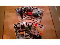 Assorted performance vw & golf + magazines