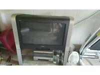 TV DVD Player and Video Recorder