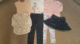 Bundle girls clothes aged 5-6
