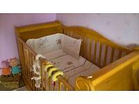 Beautiful Tutti Bambini Sledge Cot/Day Bed