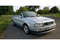 1997 audi 80 convertible, cabriolet. 1.8 petrol manual