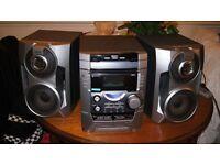sony hi fi stereo system