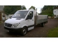 Mercedes sprinter pickup 1 owner NO VAT