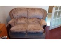 COTTAGE STYLE 2 SEATER 3 PIECE SUITE