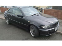 bmw 320cd coupe e46 2005 black breaking spares parts