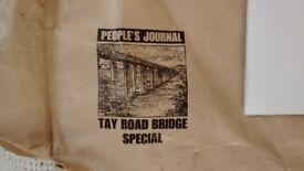 Souvenir Newspaper People's Journal Tay Road Bridge Special