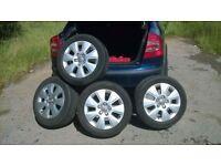 Audi 16'' Alloys wheels tyres
