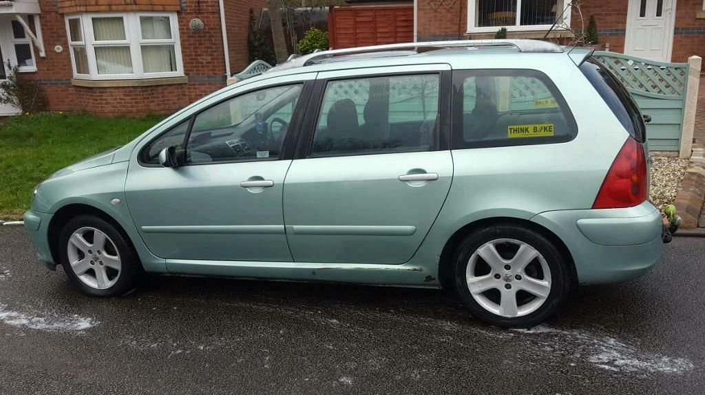 Peugeot 307 Estate 2003 In Stoke On Trent Staffordshire