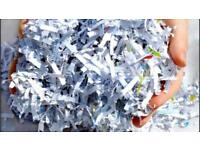 Shredded paper wanted