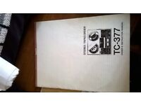 sony tc377 reel to reel manual