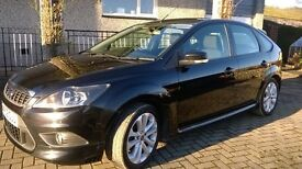 FORD FOCUS Zetec 'S' 1.6 Black Very Low Mileage (42k) '09' 1yr MOT Exc. con. fully valeted £4300 ono