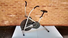 V-fit exercise bike - dual action air cycle