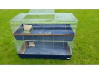 Indoor giant guinea pig, rabbit cage with stand 4 foot!