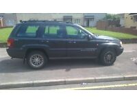 for sale jeep grand Cherokee limited edition 4ltr straight 6