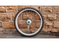 20 inch front wheel with hub brakes