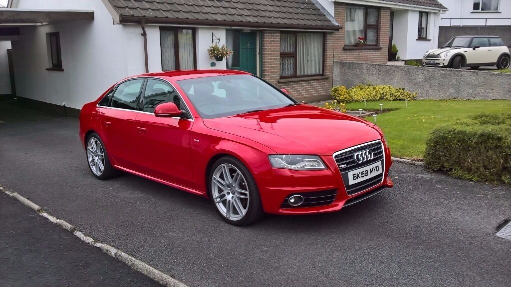 audi a4 b8 2 0 tdi s line in rathfriland county down. Black Bedroom Furniture Sets. Home Design Ideas