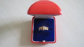 23 Carat Gold Ring Size O and 1/2. New, Unwanted Gift