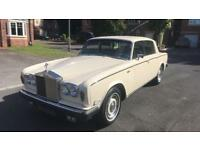 1977 ROLLS ROYCE SILVER SHADOW IN GOOD CONDITION TAX AND MOT EXEMPT WELL MAINTAINED