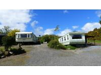 Spacious 2 bedroom Static Caravans to rent in Idyllic Strathearn