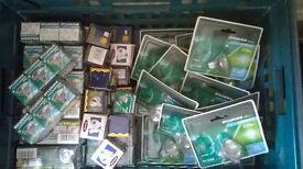 bulk load of mr16 halogen spotlight bulbs