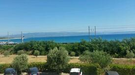 2 Bedroom beachfront property in Calabria Italy