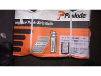 2 x paslode impulse pack stripe nails