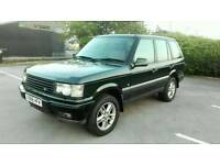 2000 RANGE ROVER P38 4.0 SE AUTO MET GREEN LONG M.O.T LOW MILES LOVELY 4X4