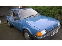 Classic 1988 Ford Escort 5spd Hatchback