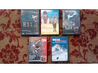 Climbing DVDS. Dave Macleod,Libby Peter,BMC skills etc