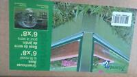 2 Greenhouse Bases 6' by 8' new in box
