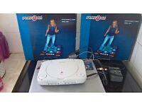 playstation 1 + 2 dance mats d dance game